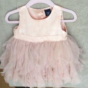 Baby Gap Satin & Tulle Dress 6-12 months